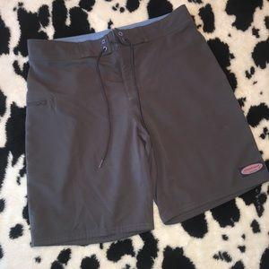 Men's Vineyard Vines Gray/Pink Swim trunks Size 32
